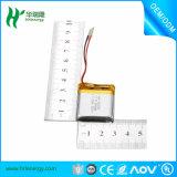 Venda quente! ! ! bateria recarregável do polímero de Li da bateria 502035 do polímero do lítio de 3.7V 300mAh-650mAh para Bluetooth