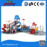 Il campo da giuoco di plastica del campo da giuoco esterno di divertimento scherza i Playthings creativi del campo da giuoco dell'interno