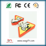 Promo Cadeau 100% Custom PVC USB Flash Drive Cartoon
