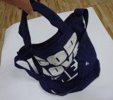 Sacos de compra novos do ombro da lona do algodão do lazer 12ounce do projeto