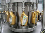 Automaitc 3 en 1 máquina de etiquetado de la máquina de rellenar del agua de botella
