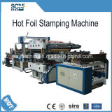 Máquina cortando hidráulica automática cheia do carimbo de ouro