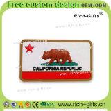 Kundenspezifische fördernde Geschenke Belüftung-Kühlraum-Magnet-Andenken-Bären-Markierungsfahnen-Republik (RC- BR)