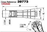 서풍 M320-64c 스핀들 콜릿 39773