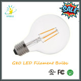 Lámpara incandescente de G80/G25 4W LED del distribuidor al por mayor de la bombilla
