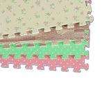 Suelo flotante adhesivo antideslizante de la estera de EVA del rompecabezas Jigsaw