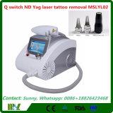 2016 importierte Schalter Nd YAG karminroten Laser-Korea Q Laser-Tätowierung-Abbau-Maschine mit Cer