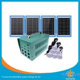 태양 전지판 및 LED 빛 20W 작은 Soalr 시스템으로