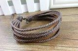 Form-handgemachtes Armband-Leder-Schmucksache-Armband-Förderung-Geschenk