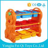 工場は直接高品質の気持が良いパックフレームのプラスチック子供のおもちゃの記憶ラックを供給する