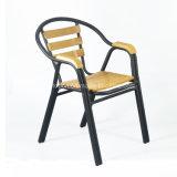卸売の屋外アルミニウム管のレストランのArmrestの椅子(SP-OC786)