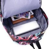 병 홀더를 가진 현대 학생 학교 여행 교정 책가방 부대