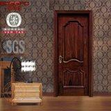 Porte intérieure en bois d'acajou de modèle neuf avec le découpage (GSP2-043)