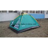 2人のDomepackの単層のキャンプテント