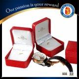 Boîte-cadeau rouge de papier de cadre de montre de la vente 2015 chaude