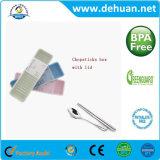 Kundenspezifische Plastikeßstäbchen u. Tafelgeschirr-verpackenkasten