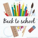 Los artículos promocionales volver a la escuela Conjunto de papelería Productos