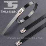 ataduras de cables cubiertas de metal del acero inoxidable 94V-2