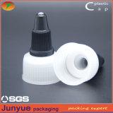 20/410 casquillo plástico de la tapa de la torcedura del encierro del tornillo de botella para la salsa