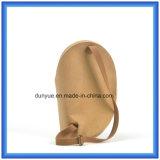 Neuester kundenspezifischer Tearproof Packpapier-materieller Rucksack-Beutel, Tridimensional wasserdichter Packpapier-einzelner Schulter-Kurier-Beutel mit justierbarem Riemen
