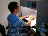 Máquina do teste da cor da fonte seis luminosa (GW-017)