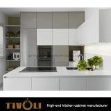 新しく標準的で白い木の食器棚のシェーカー様式Tivo-0170h