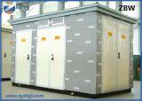 Zbw는 조립식으로 만들었다 변압기 변전소 (유럽 유형)를