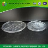 Takeaway разделенный пластмассой контейнер еды для заедок