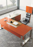 Muebles de madera de la oficina del diseño moderno del escritorio ejecutivo de lujo del vector (HF-SIA01)