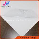 Vinyle transparent de PVC d'espace libre pour l'impression
