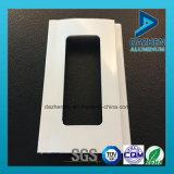 Perfil de aluminio del rodillo de la puerta popular del obturador con colores modificados para requisitos particulares de la talla