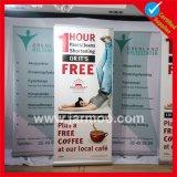 Publicidade ao ar livre Promoção Economia retrátil Custom Roll up Stand