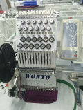12 e 15 colori scelgono la macchina del ricamo della protezione automatizzata testa per il punto trasversale