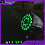 屋内24X12W RGBW LEDの段階の同価64 DJはつく
