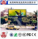 Guter Preis P8 im Freien elektronische LED Bildschirm-hohe Definition bekanntmachend