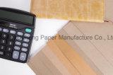 Het duurzame Met een laag bedekte Document van Kraftpapier voor het Verpakken van het Broodje van het Document