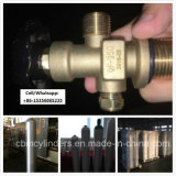 Fabrik-Preis 40L Aluminiumgas-Zylinder-Becken mit Ventilen Qf-35c