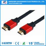 Rechte hoek 90 de Kabel 1.4V 1080P van de hoge snelheid van de Graad HDMI