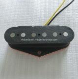 Recolección tele de la guitarra del puente de Rod Flatwork de la aleación de acero 5 de la vendimia