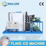 Máquina de gelo comercial do floco da capacidade grande de Koller para Fisher (30 toneladas/dia)
