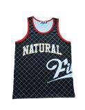 印刷されるロゴのスポーツの摩耗のバスケットボールのジャージーの速い乾燥のトレーニングジャージー(TT5011)