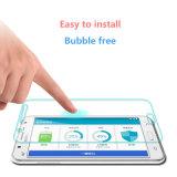Protetor móvel Anti-Shock da tela do vidro Tempered para Samsung J7