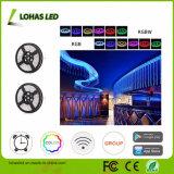 Iluminación de la luz elegante de la tira 5050 SMD LED RGB WiFi LED