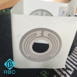 De UHF Programmeerbare M4 CD Sticker van het Etiket van het Type RFID van Inlegsel Duidelijke