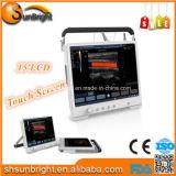 Matériel cardiaque de machine de scanner d'ultrason de Doppler Digitals de couleur portative médicale d'ordinateur portatif de la haute précision Sun-906q pour le coeur