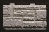 Producción plástica de piedra del panel de apartadero del PVC que saca haciendo la línea de la máquina