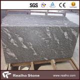 De natuurlijke Plakken/de Tegels van het Graniet van de Sneeuw van China Nevelige Zwarte Grijze