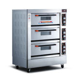Le meilleur four électrique de matériel de traitement au four de restaurant des prix/de qualité avec 3-Deck