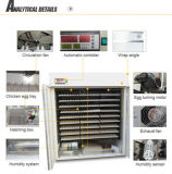 A melhor incubadora automática dos ovos de Digitas 880 do preço completamente (YZITE-9)