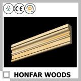 modanatura di legno della parte superiore del materiale da costruzione di 21mm x di 63mm